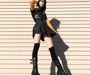 fashion, girl, and goth image