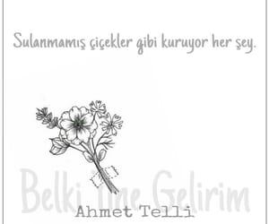 çiçek, anlamlı sözler, and türkçe image