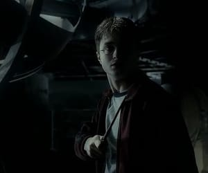 daniel radcliffe, wand, and harry potter image