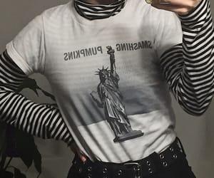 90s, goth, and grunge fashion image