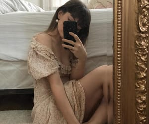 aesthetic, dress, and feminine image