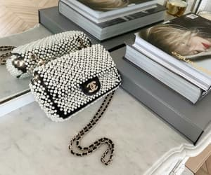 bag, Vouge, and chanel image