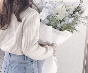 flowers, soft, and fashion image