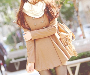 fashion, winter, and coat image