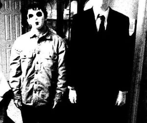 blackandwhite, horror, and toby image