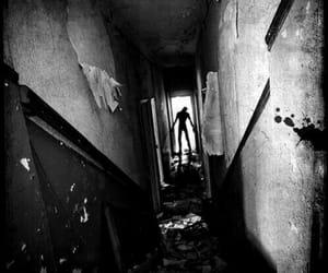 creepy, slenderman, and creepypasta image