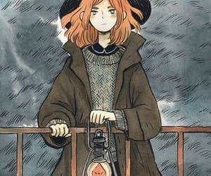 art, witch, and autumn image