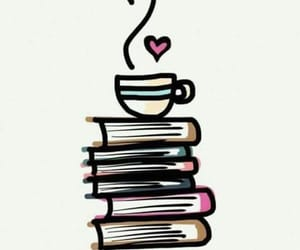 books, cafe, and libros image