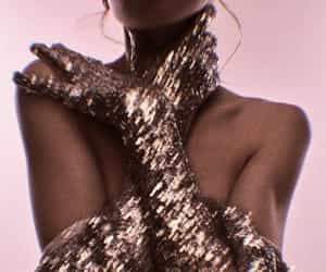 fashion, glitter, and aesthetic image