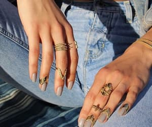 accessories, aesthetic, and nails image