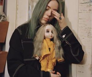 billie eilish, doll, and billie image