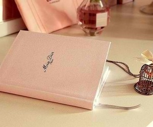 pink, dior, and book image