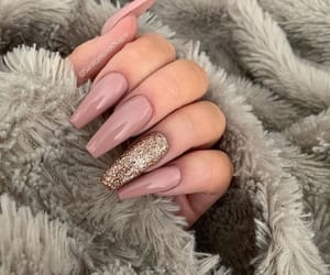 beauty, nails, and Nude image