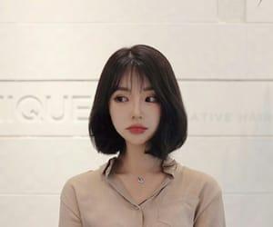 ulzzang, girl, and short hair image