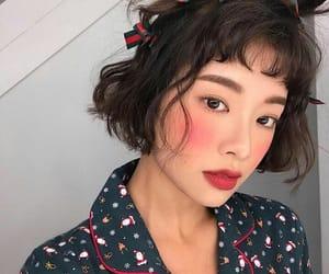 beauty, bob cut, and fashion image