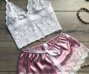 beauty, fashion, and lace image