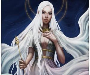 goddess, sarah j maas, and mab image