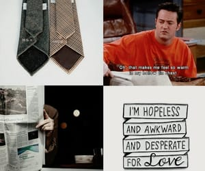 aesthetic, chandler bing, and character image