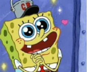 heart, kiss, and spongebob image