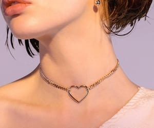 aphrodite, heart necklace, and love image