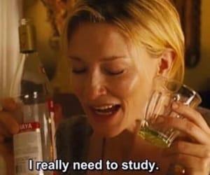 alcohol, shot, and study image
