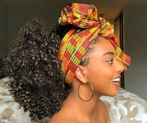 curly hair, edges, and hair image