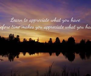 appreciate, grateful, and present image
