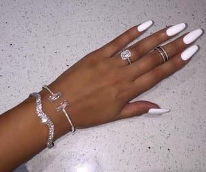 claws, jewelry, and nails image