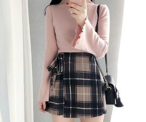 aesthetic, kfashion, and outfit image