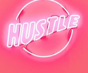 pink, hustle, and neon image