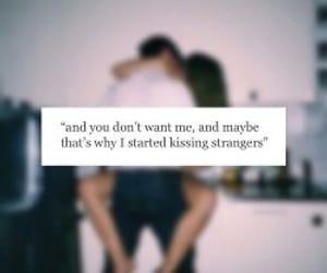 kiss, quotes, and sad image