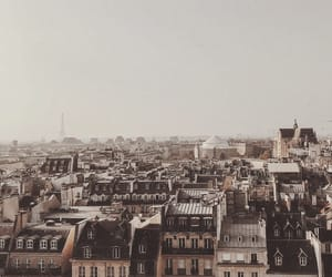 buildings, city, and eiffeltower image