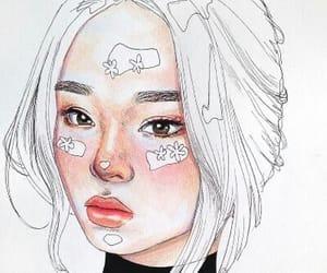 art, asian girl, and beautiful image