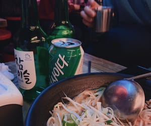 aesthetic, soju, and alcohol image