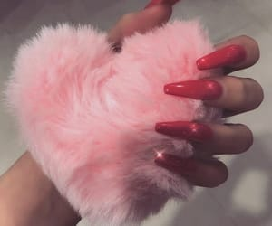 nails, pink, and aesthetic image