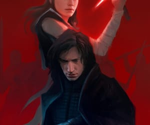 fanart, rey, and red image
