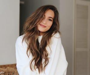 smile happy, balayage, and kirsten blogger hair image