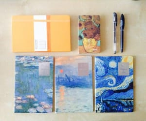 blue, study, and diary image