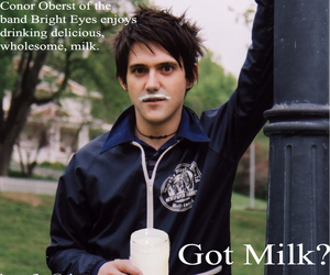 Bright Eyes, conor oberst, and my god image
