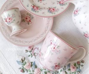 afternoon tea, blogger, and pink image