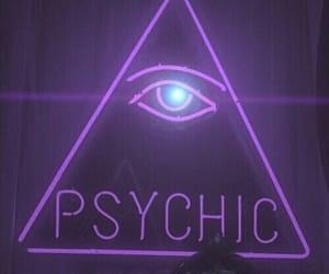 purple, psychic, and grunge image