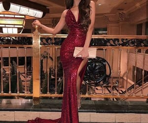 dress, girl, and Hot image