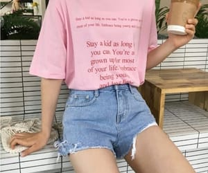 kfashion, outfit, and pink image