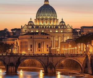 rome, italy, and river image