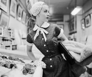 Tippi Hedren, vintage, and black and white image