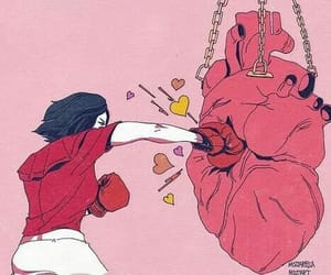 heart, art, and boxe image