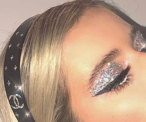 90s, diamonds, and lashes image