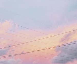 clouds, lovely, and pink image