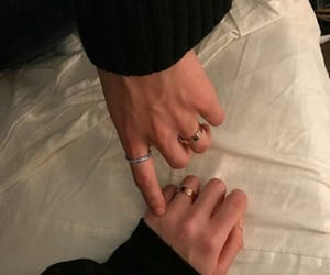 couple, hands, and aesthetic image