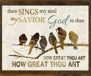 birds, christian music, and music image